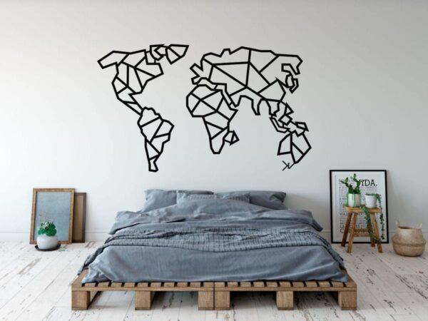 mapa de aço
